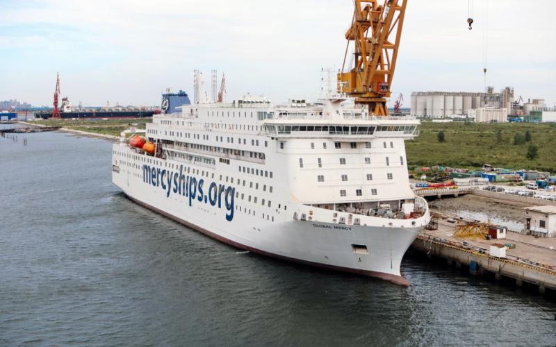 De Global Mercy is het nieuwste schip van Mercy Ships en komt in 2021 in de vaart. | Foto: copyright Mercy Ships