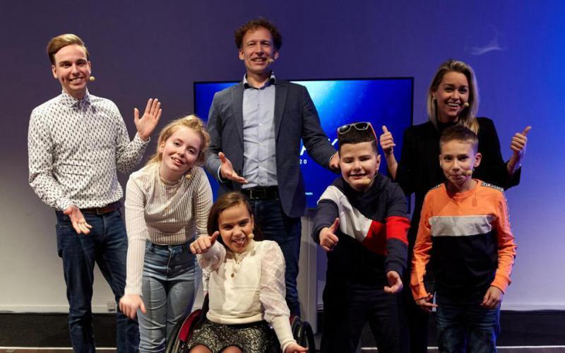 De nieuwe kinderambassadeurs | Foto: Femke Reijerman