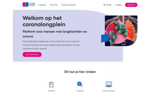 Longfonds lanceert digitaal platform voor longklachten na corona